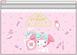 Tease Sanrio Pocket Clear Pouch My Melody Happiness Girl