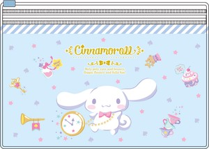Tease Sanrio Pocket Clear Pouch Cinnamon Roll Happiness Girl