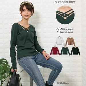 [ 2020NewItem ] Double Closs V-neck Pullover