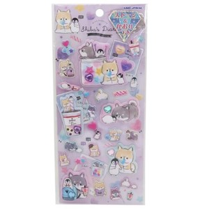 DIARY Super Puffy Sticker