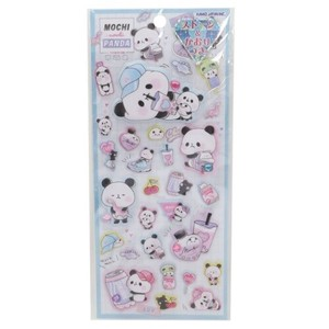 MochiMochi Panda Super Puffy Sticker