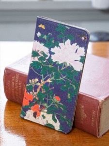 Design Model Notebook Type Multi Smartphone Case Flower
