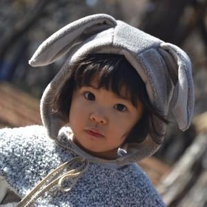 動物みたいな帽子 ―ウサギ―