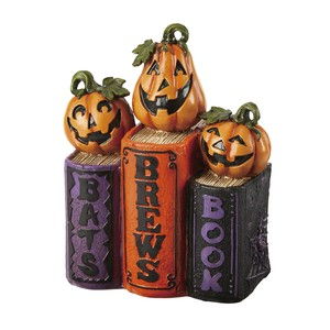 Pumpkin Book Objects Shop Decoration Halloween For