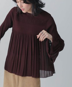 Majolica Pleats Blouse