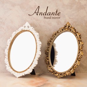 Stand Wall Mirror Oval
