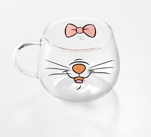 Heat-Resistant Glass Mouse Mug Marie