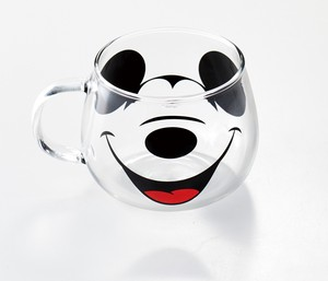 Heat-Resistant Glass Mouse Mug Mickey Mouse