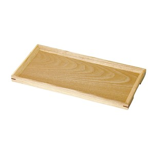 Wooden Slip Cafe Tray Clear Brown Tray