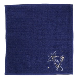 Hand Towel One Point Embroidery Handkerchief Towel