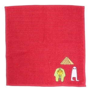 Hand Towel One Point Embroidery Handkerchief Towel Ancient Egypt