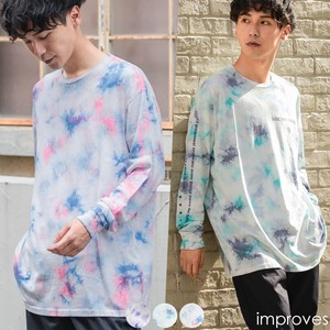 """2020 New Item"" Unisex Pastel Color Long Sleeve Print T-shirt"