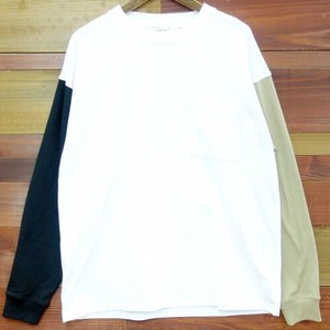 Early Spring Pocket Long T-shirts Long Sleeve T-shirt