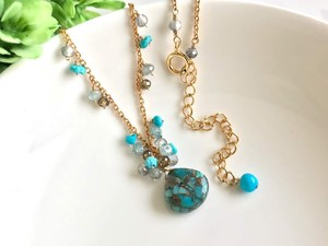 Blue Copper Turquoise Necklace Nostalgia