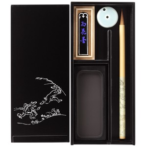 Echizen Calligraphy Calligraphy Set Wildlife Caricature Traditional crafts