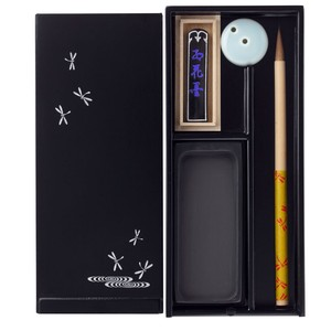 Echizen Calligraphy Calligraphy Set Dragonfly Traditional crafts