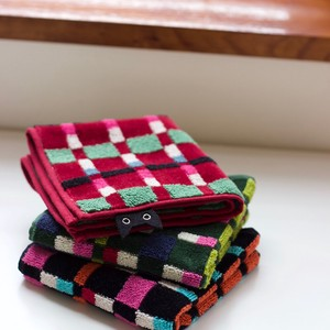 A/W Casual Checkered Towel Handkerchief Towel Collection