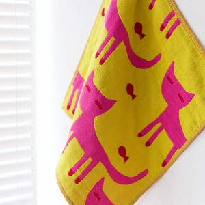 A/W Cat Gauze Handkerchief Towel Collection