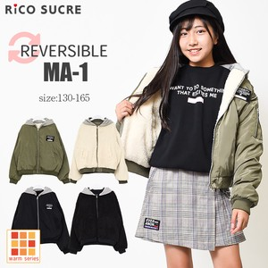 A/W Reversible Jacket Girl Outerwear Children's Clothing