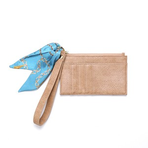 Card Key Case Beige