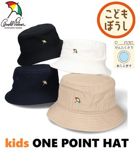 【キッズ】ARNOLD PALMER KIDS ONE POINT HAT