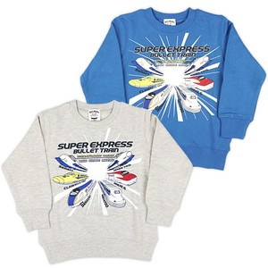 Kids Shinkansen Fleece Sweatshirt