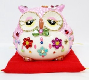 Ornament Feng Shui Owl Bank