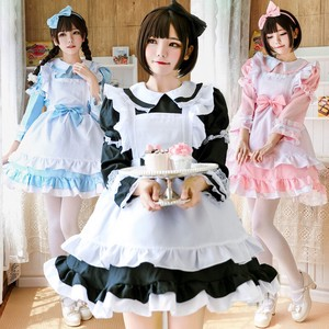 Maid Halloween Dress Cosplay Costume One-piece Dress