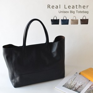 Cow Leather Top Leather Leather Unisex Big Tote Large capacity
