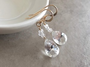 Crystal Pierced Earring Earring and