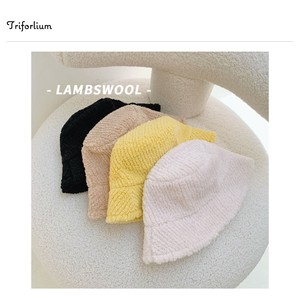 """2020 New Item"" 4 Colors Fluffy Material Hat"