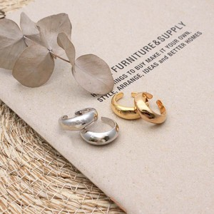 2 Pcs Ring Set Accessory Fancy Goods Ring Silver Gold