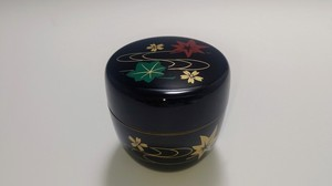 Tagawa Echizen Lacquerware Japanese Tea Tools Jewelry Case With Lid