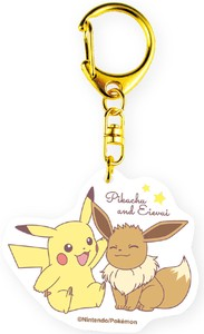 Tease Pocket Monster Acrylic Key Ring Good Friends Friends