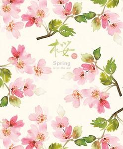 便箋 満開の桜