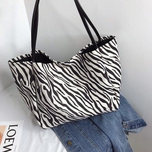 [ 2020NewItem ] Popular Animal ZEBRA Leopard Tote Bag
