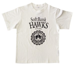 Period soft Bank Hawks monchhichi T-shirt