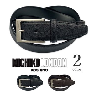 2 Colors London Real Leather Emboss Processing Design Belt