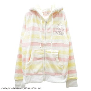 My Melody Colorful Border Hoody