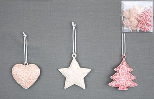 Metal Ornament Set