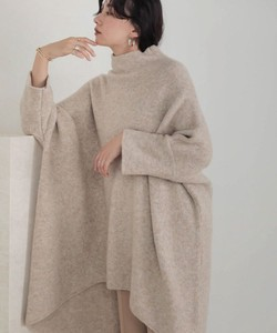 A/W Reserved items soft High Neck Knitted Poncho