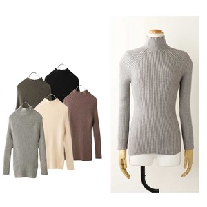 A/W Bottle Neck Knitted Pullover