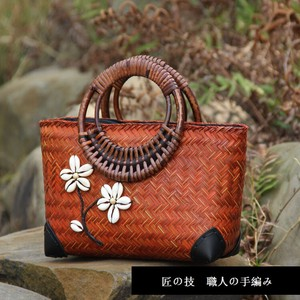 [ 2020NewItem ] Maximum Hand Knitting Artisans Handmade Bag Hand Knitting Attached