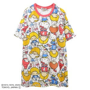 Sanrio Character Repeating Pattern T-shirt