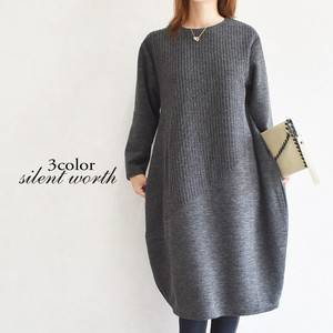 A/W Switching One-piece Dress