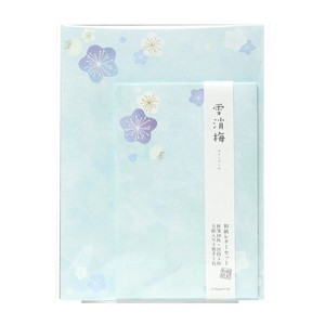 Echizen Japanese Paper Writing Papers & Envelope Ume