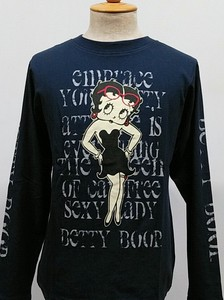 【2020AW】SPBT-93245A:BettyBoop(ベティブープ)長袖天竺Tee