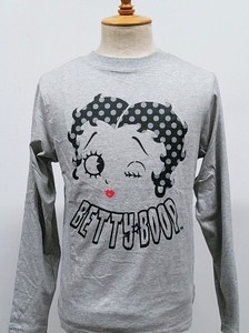 【2020AW】SPBT-93245B:BettyBoop(ベティブープ)長袖天竺Tee