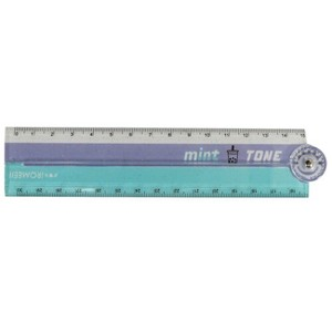 Protractor Attached 30cm Folded Ruler