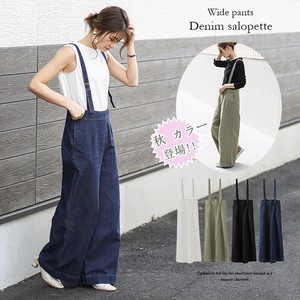 [ 2020NewItem ] Pet Pants Overall wide pants Denim Overall